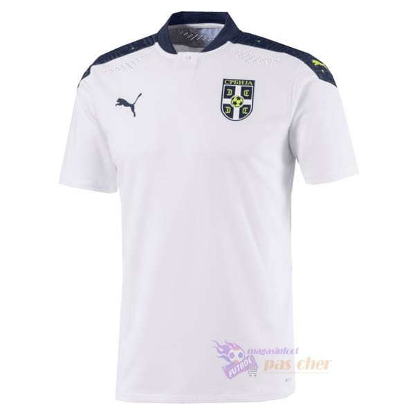 Magasin Foot PUMA Exterieur Maillot Serbie 2020 Blanc