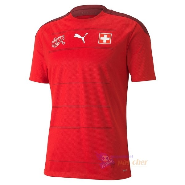 Magasin Foot PUMA Domicile Maillot Suisse 2020 Rouge