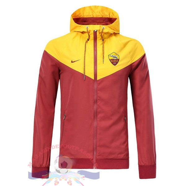 Magasin Foot Nike Coupe Vent AS Roma 2018-2019 Rouge