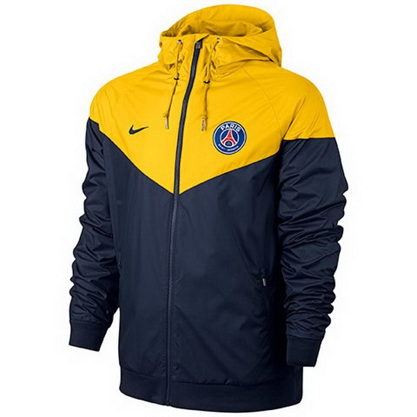 Magasin Foot Nike Coupe Vent Paris Saint Germain 2017 2018 Jaune Bleu