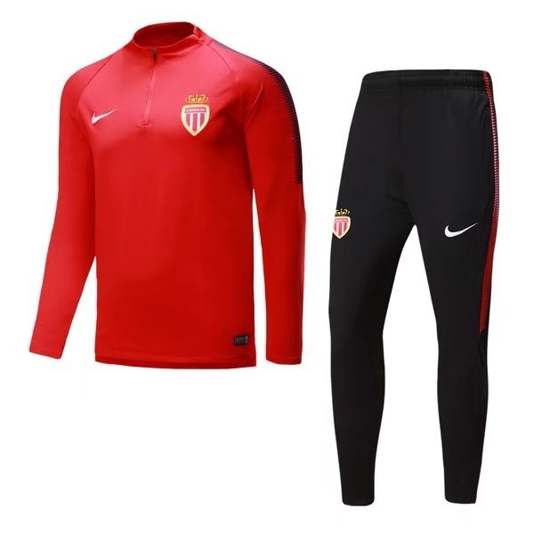 Magasin Foot Nike De Laine Survêtements AS Monaco 2017 2018 Rouge