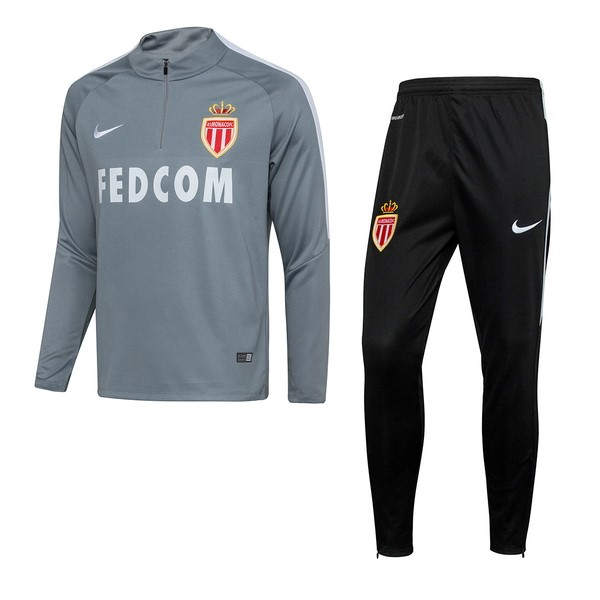Magasin Foot Nike Survêtements AS Monaco 2017 2018 Gris