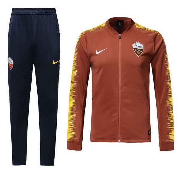 Magasin Foot Nike Survêtements AS Roma 2018 2019 Orange