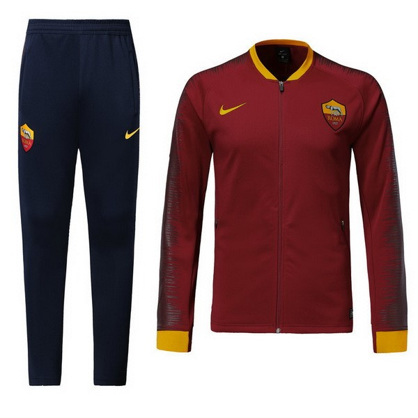Magasin Foot Nike Survêtements AS Roma 2018 2019 Rouge Marine