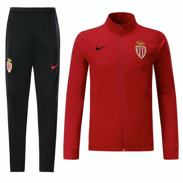 Magasin Foot Nike Survêtements Enfant AS Monaco 2017 2018 Rouge