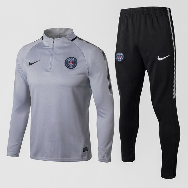 Magasin Foot Nike Survêtements Paris Saint Germain 2017 2018 Gris Clair