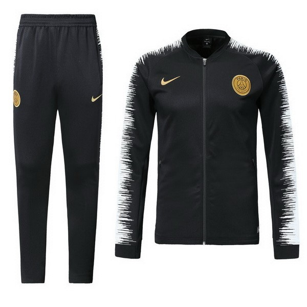 Magasin Foot Nike Survêtements Paris Saint Germain 2018 2019 Noir Blanc