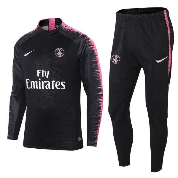Magasin Foot Nike Survêtements Paris Saint Germain 2018 2019 Noir Rose