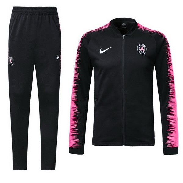 Magasin Foot Nike Survêtements Paris Saint Germain 2018 2019 Rose Noir