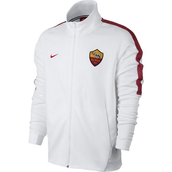 Magasin Foot Nike Veste AS Roma 2017 2018 Blanc