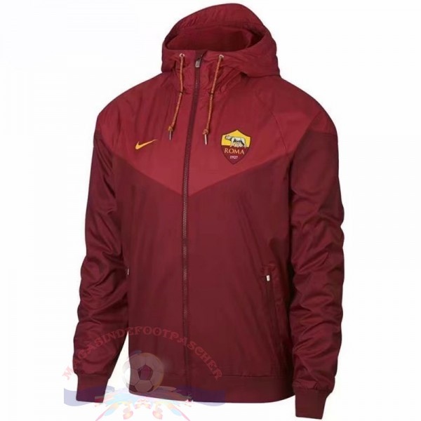 Magasin Foot Nike Coupe Vent AS Roma 2018 2019 Rouge Marine