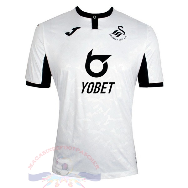 Magasin Foot Joma Domicile Maillot Swansea City 2019 2020 Blanc