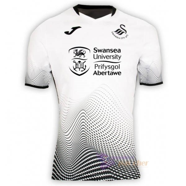 Magasin Foot Joma Domicile Maillot Swansea 2020 2021 Blanc