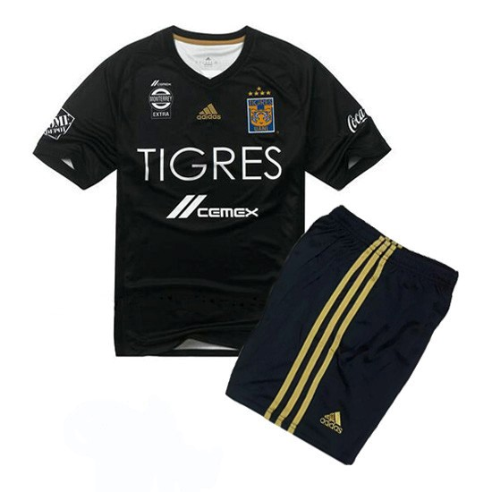Magasin Foot adidas Third Ensemble Enfant Tigres de la UANL 2017 2018 Noir