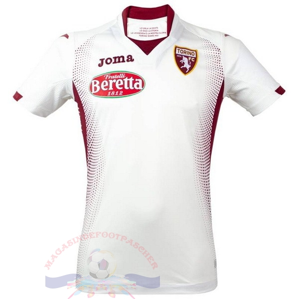 Magasin Foot Joma Exterieur Maillot Torino 2019 2020 Blanc