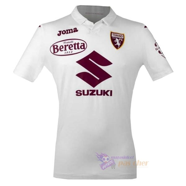 Magasin Foot Joma Exterieur Maillot Torino 2020 2021 Blanc