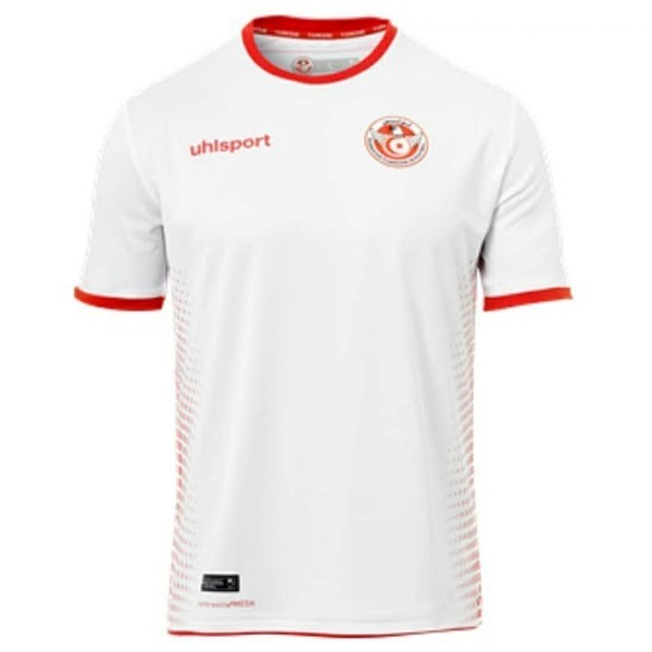 Magasin Foot adidas Domicile Maillots Tunisie 2018 Blanc