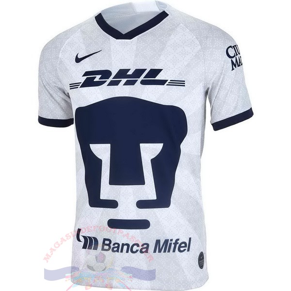 Magasin Foot Nike Domicile Maillot UNAM Pumas 2019 2020 Blanc