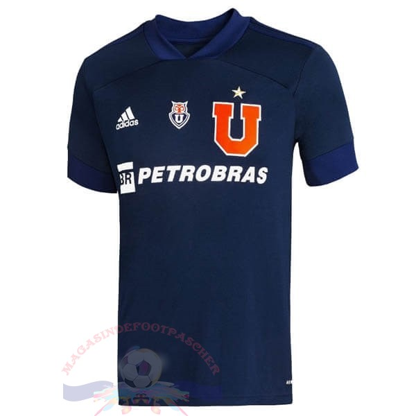Magasin Foot adidas Domicile Maillot Universidad De Chile 2020 2021 Bleu