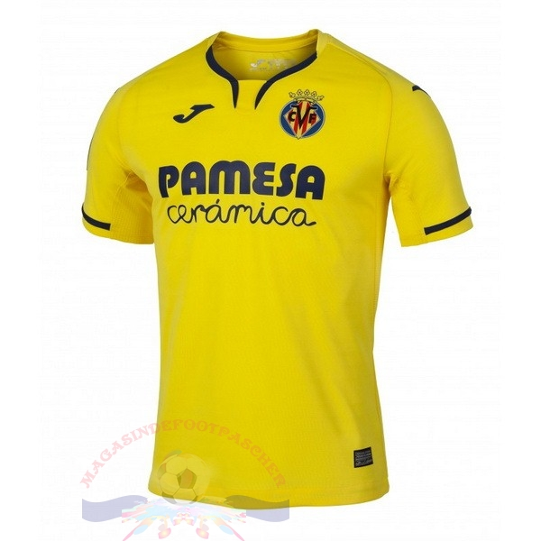 Magasin Foot Joma Domicile Maillot Villarreal 2019 2020 Jaune