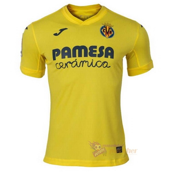Magasin Foot Joma Domicile Maillot Villarreal 2020 2021 Jaune
