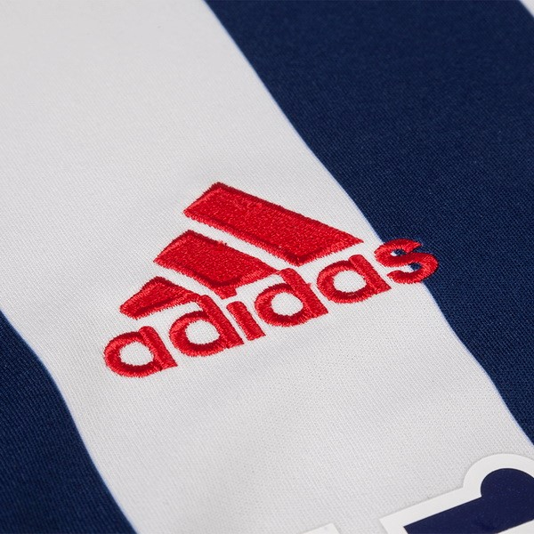 Magasin Foot adidas Domicile Maillots West Brom 2017 2018 Bleu
