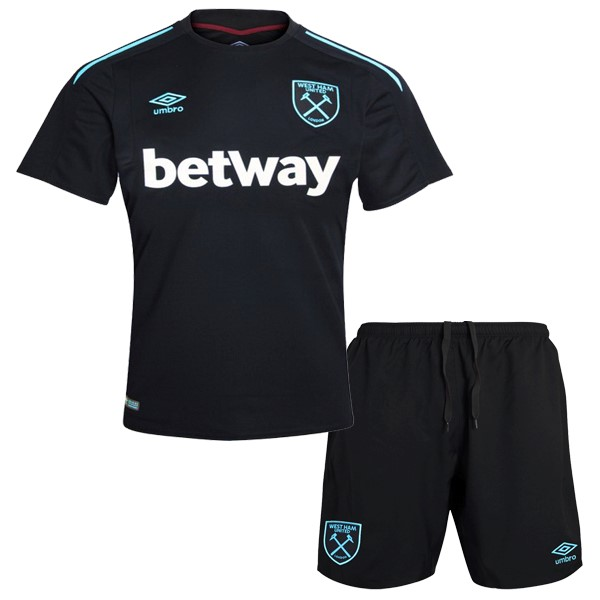 Magasin Foot umbro Exterieur Ensemble Enfant West Ham 2017 2018 Noir