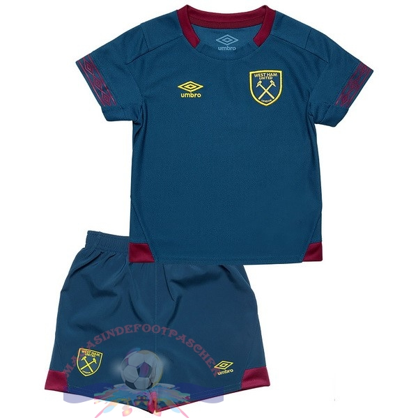 Magasin Foot umbro Exterieur Ensemble Enfant West Ham United 2018-2019 Bleu