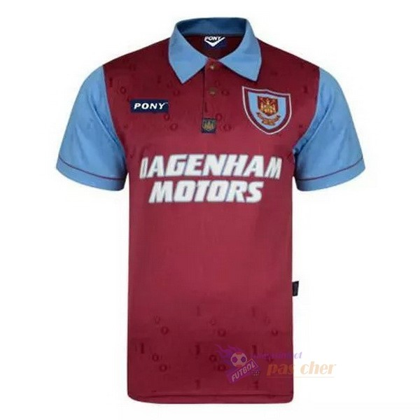 Magasin Foot Pony Édition commémorative Maillot West Ham United 100th Rouge