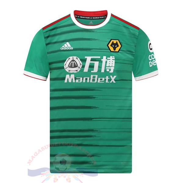 Magasin Foot adidas Third Maillot Wolves 2019 2020 Vert