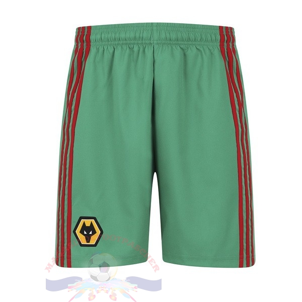 Magasin Foot adidas Third Pantalon Wolves 2019 2020 Vert