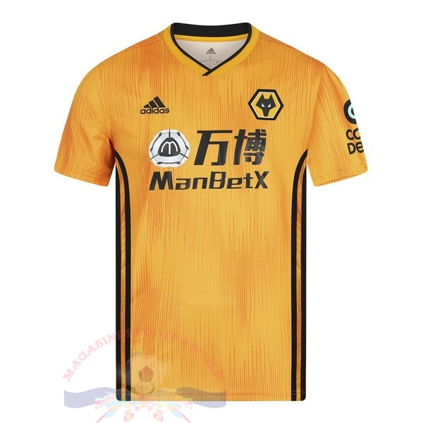Magasin Foot Adidas Domicile Maillot Wolves 2019 2020 Amarillo